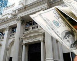 Banco central reservas dólares