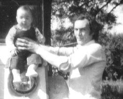 Ger bebé y Tito blanco y negro