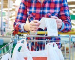 Supermercado changuito inflación