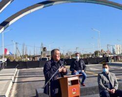 Inauguración nuevo puente Schiaretti y autoridades vertical